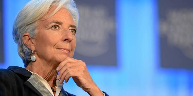 Christine Lagarde se méfie des effets de l'intelligence artificielle sur l'emploi