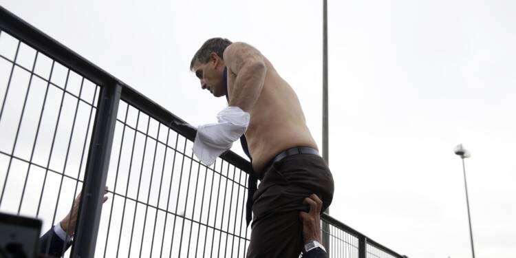 """""""Chemise arrachée"""": procès en appel, avant une grève à Air France"""