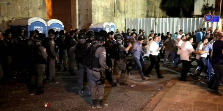 Nouveaux heurts entre palestiniens et policiers israéliens