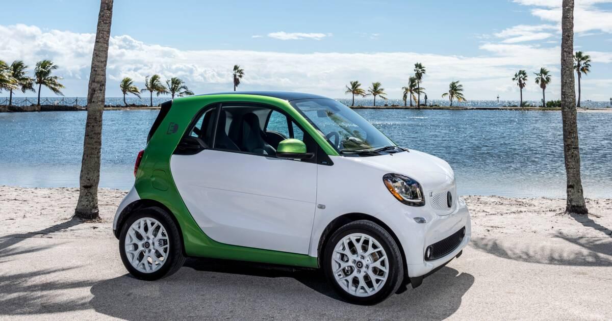 smart fortwo electric drive la voiture lectrique la plus conomique. Black Bedroom Furniture Sets. Home Design Ideas