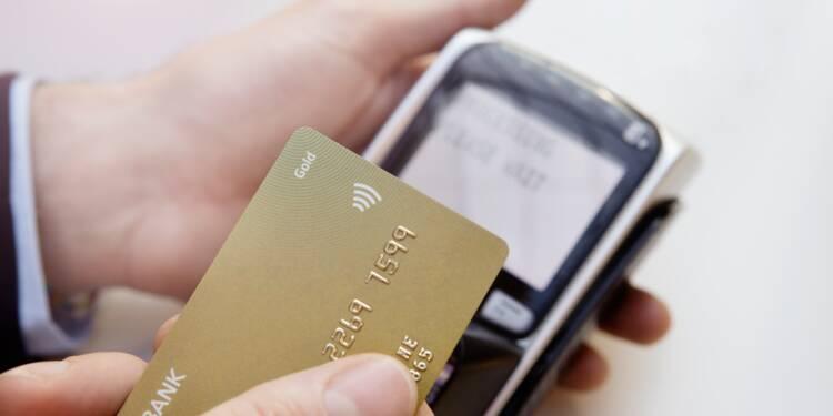 Cartes bancaires sans contact : bien moins de fraudes que sur les paiements en ligne !