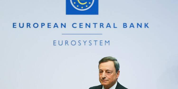 """""""Nous n'y sommes pas encore"""", dit Draghi (BCE)"""
