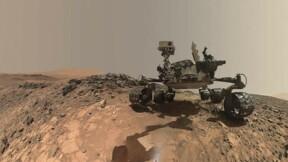 Curiosity célèbre ses cinq années à la surface de Mars