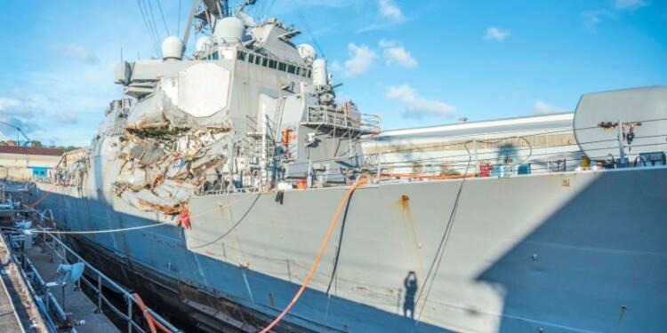 L'équipage de l'USS Fitzgerald sans doute responsable de la collision