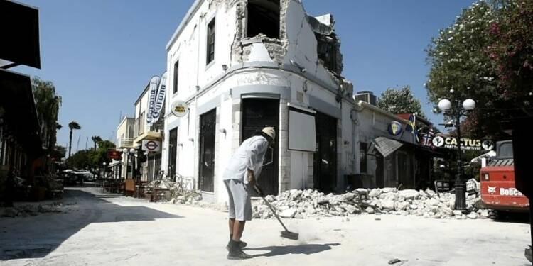 Grèce: l'île de Kos constate les dégâts après le séisme