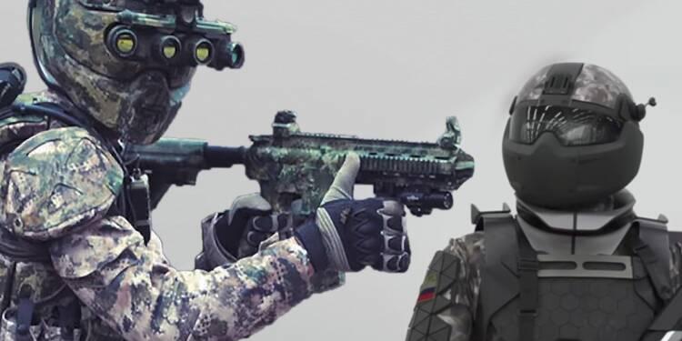 Russie/États-Unis : qui aura les premiers soldats du futur ?