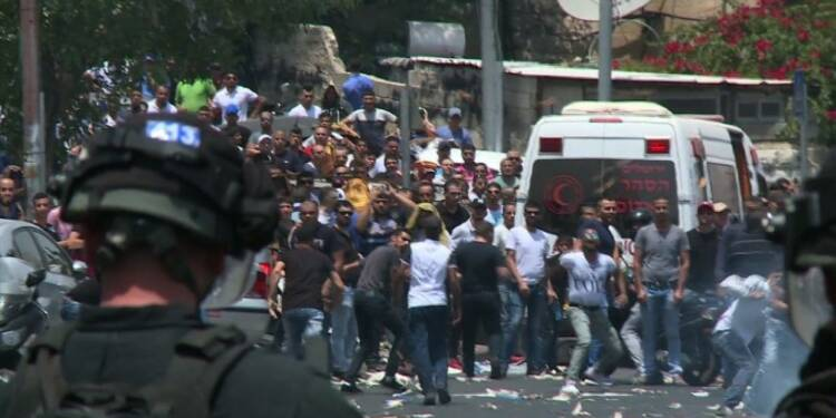 Trois Palestiniens tués après une semaine de tensions