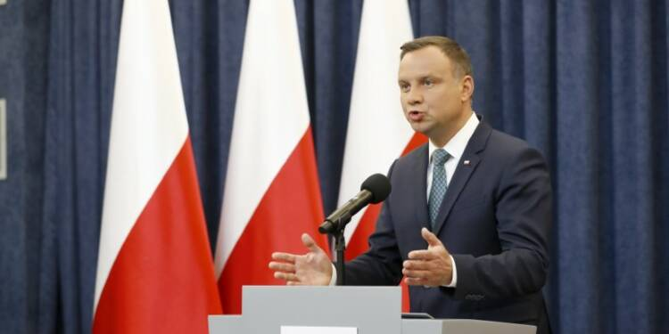 Le président polonais met son veto à la réforme de la justice