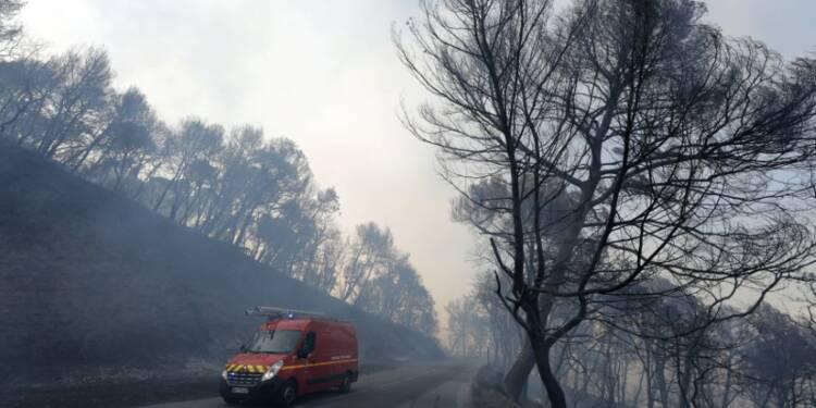 Trois incendies de forêt font rage dans le Sud