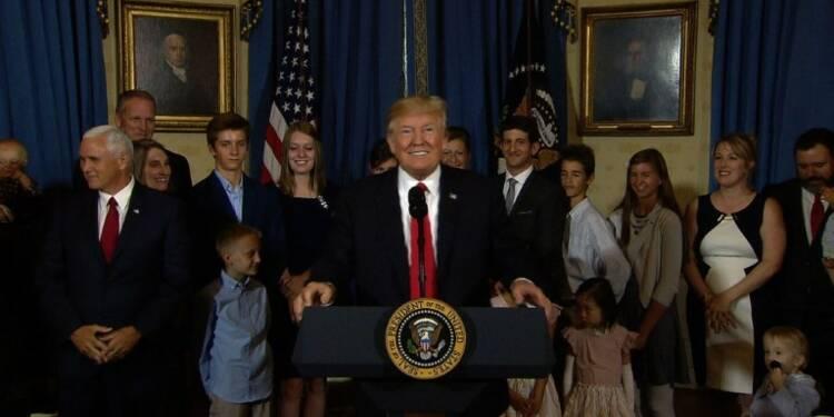 Donald Trump s'accroche à un autre vote pour abroger Obamacare