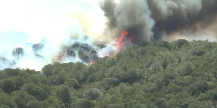 Incendies: le Var en vigilance particulière