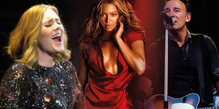 Découvrez les 5 artistes de la scène musicale qui gagnent le plus