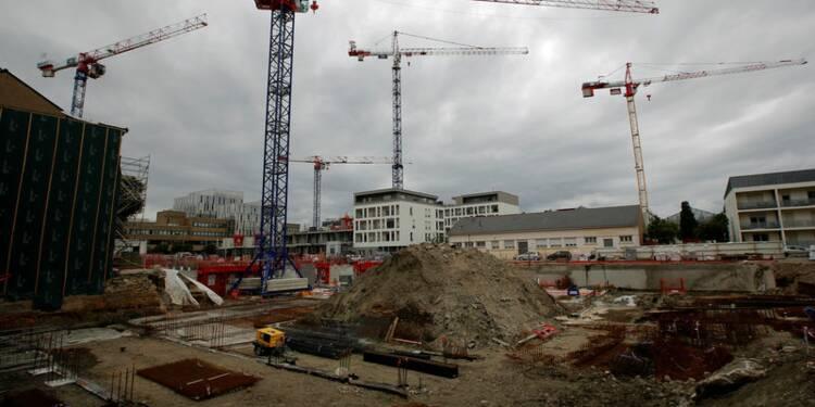 La hausse des mises en chantier reste solide en juin en France