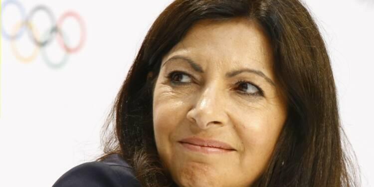 """JO 2024 : Hidalgo """"heureuse"""" que Los Angeles laisse le champ libre à Paris"""