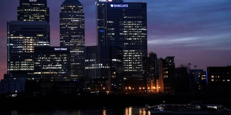Brexit : la City de Londres pourrait perdre 40.000 emplois de banquiers