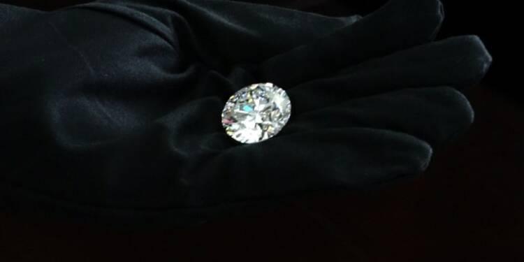 Russie: un diamant d'une rare pureté mis aux enchères