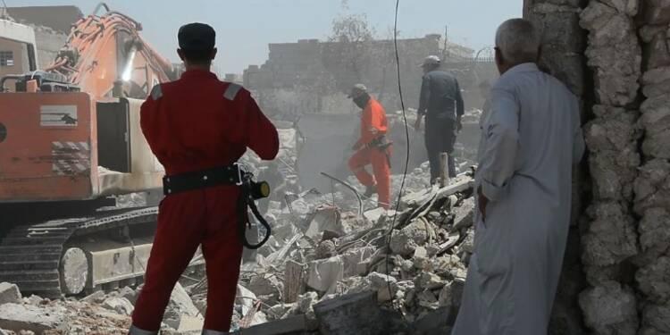 Des ruines à la morgue, à la recherche des disparus de Mossoul