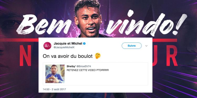Jacquie et Michel, Netflix... Les marques surfent déjà sur l'arrivée de Neymar au PSG