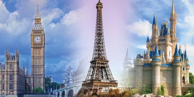 Voici les 10 lieux touristiques les plus populaires sur for Lieux touristiques france