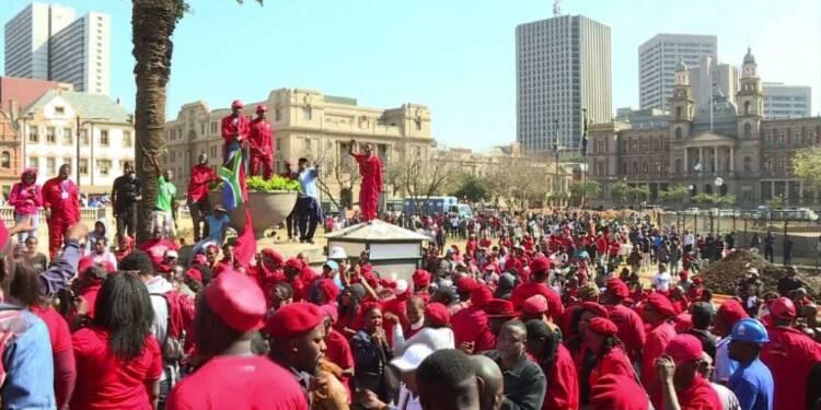 A Pretoria, les Sud-africains manifestent contre Jacob Zuma
