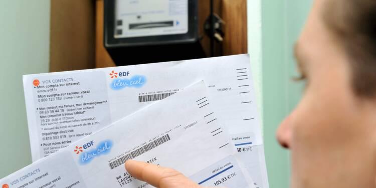 Electricité, gaz : des factures de rattrapage envoyées en toute illégalité aux clients