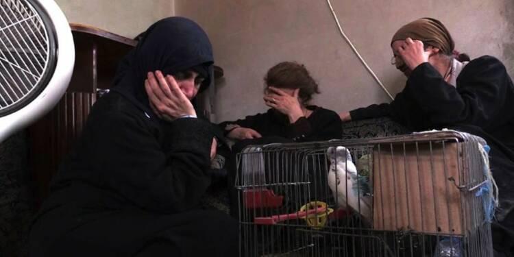 Une chrétienne fuit Raqa avec ses proches