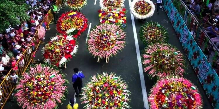 Le Festival des Fleurs de Medellin célèbre 60 ans de tradition