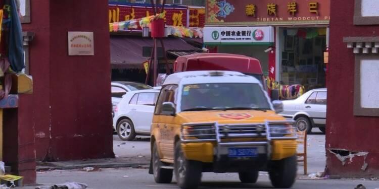 Séisme en Chine: les opérations de secours continuent