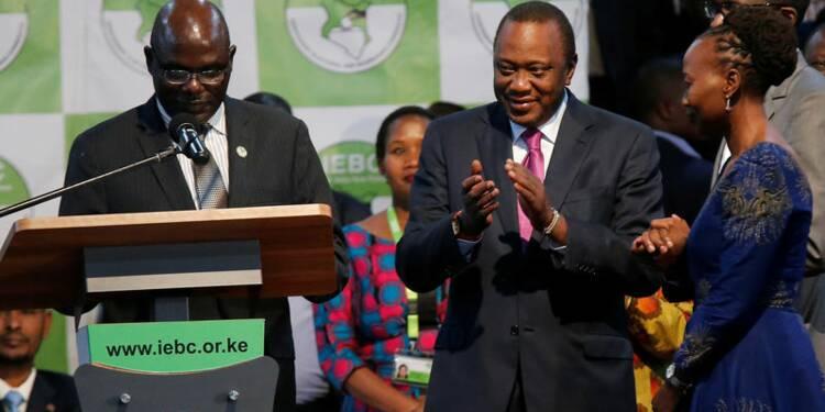 Le président sortant proclamé vainqueur au Kenya