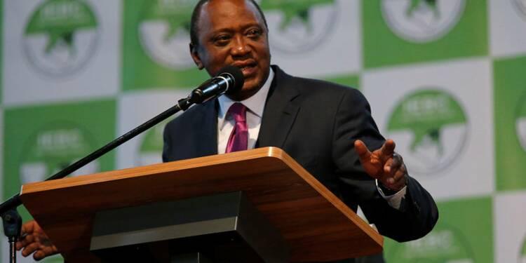 Victoire du président sortant au Kenya, l'opposition conteste