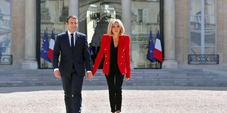 Le couple présidentiel en villégiature à Marseille