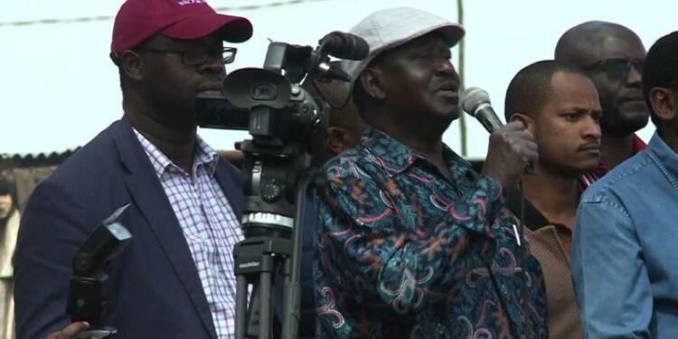Kenya: Odinga appelle ses partisans à rester chez eux lundi