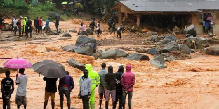 Sierra Leone: plus de 300 morts après des pluies diluviennes