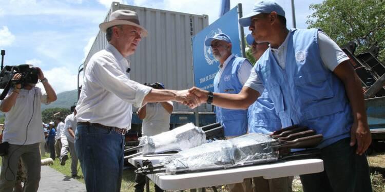 Les rebelles colombiens des Farc ont remis plus de 8.000 armes