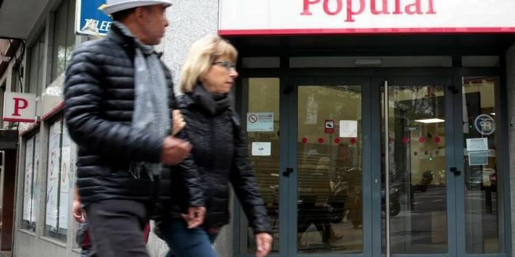 Des créanciers de Banco Popular contestent le plan de sauvetage