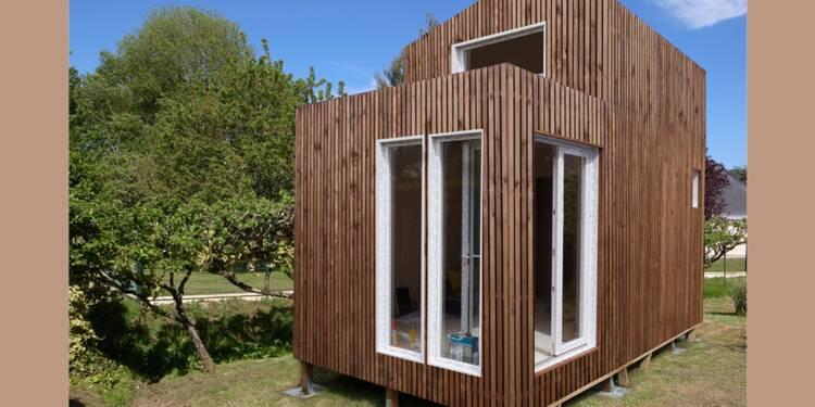 greenkub une maison dans votre jardin en 48 heures. Black Bedroom Furniture Sets. Home Design Ideas