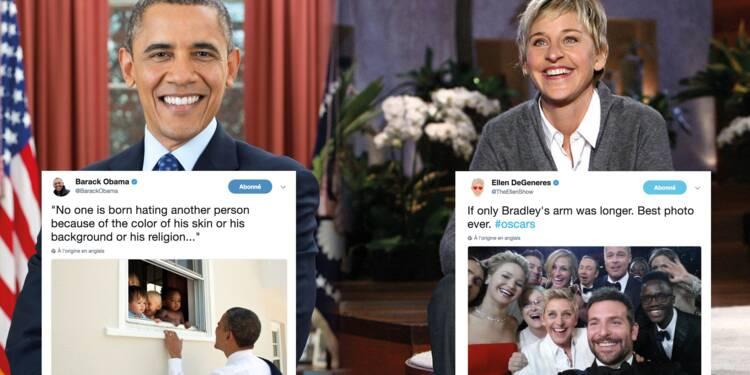 Le tweet d'Obama devient le plus liké de l'histoire, découvrez le top 10