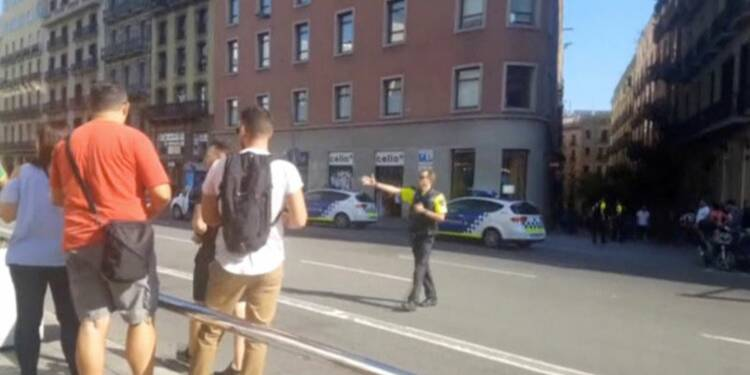 Un auteur de l'attaque de Barcelone abattu par la police