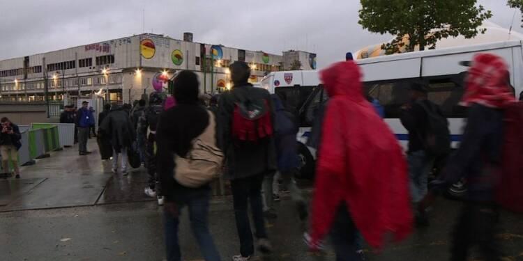 Nouvelle évacuation de campements de migrants à Paris
