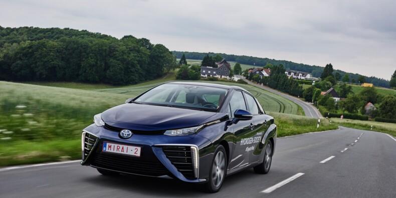 On a testé la Mirai, la première Toyota roulant à l'hydrogène
