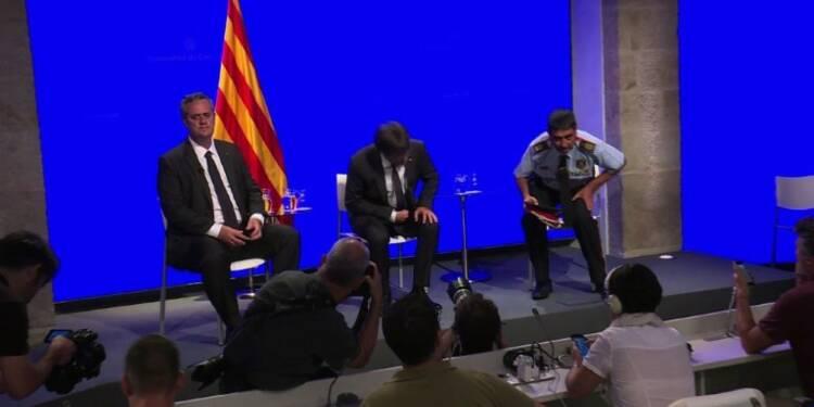 Barcelone: la police catalane fait le point sur l'enquête