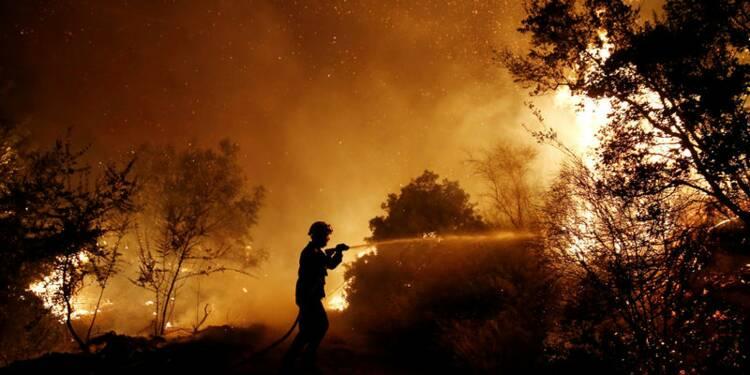 Incendie géant près de Marseille : 1.700 personnes bloquées en gare Saint-Charles