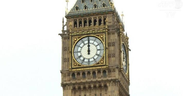 GB: après les 12 coups de midi, Big Ben plonge dans le silence