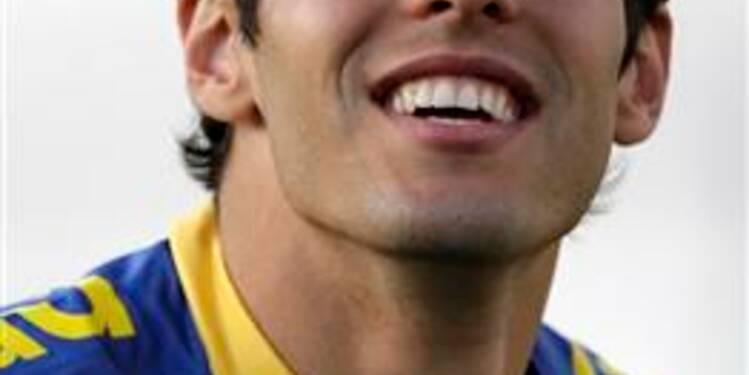 Football: Kaka signe pour six ans au Real Madrid