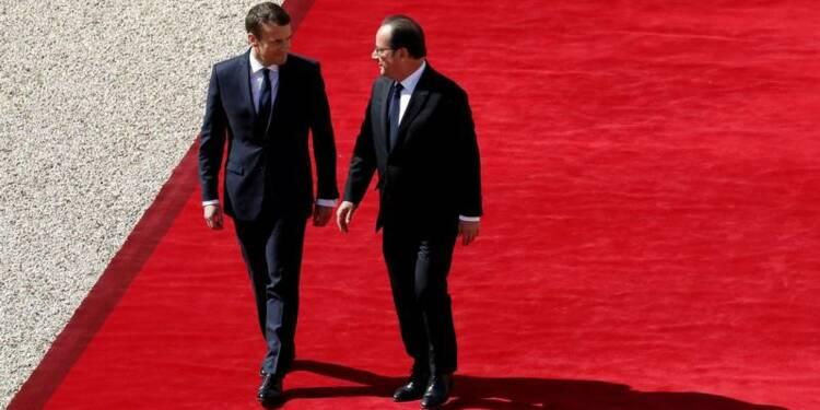 François Hollande fait la leçon à Emmanuel Macron sur la réforme du travail
