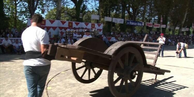 Des colosses à la force herculéenne se défient au Pays basque