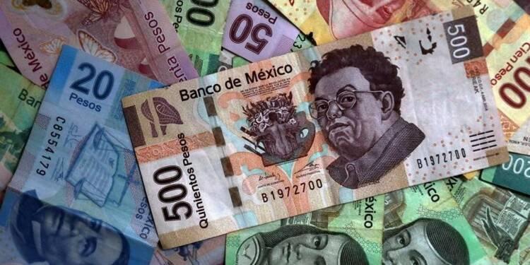Le peso mexicain baisse après les menaces de Trump sur l'Alena