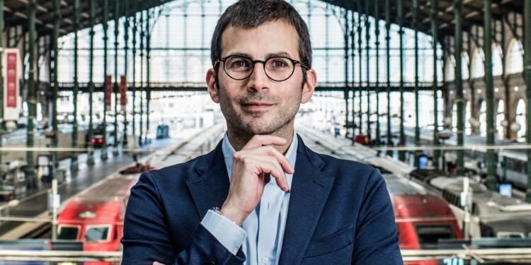 À seulement 40 ans, il dirige la gare la plus fréquentée d'Europe