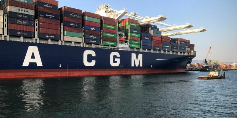CMA-CGM va faire construire en Chine neuf porte-conteneurs géants