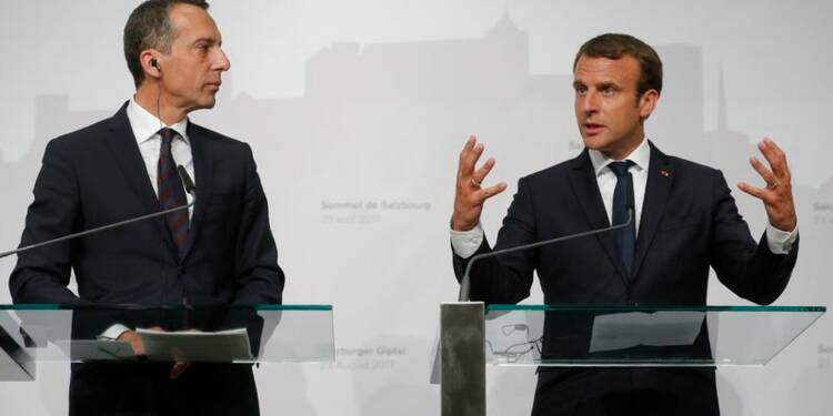 Macron fait avancer à l'Est son combat sur le travail détaché